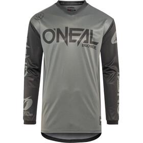 ONeal Threat maglietta a maniche lunghe Uomo, RIDER gray